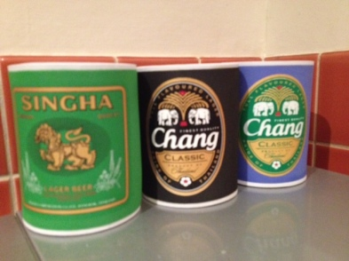 Beer holders from Thailand