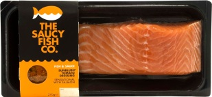 The Saucy Fish Co. Salmon with Sunblush Tomato Dressing