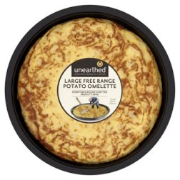 unearthed large free range omelette