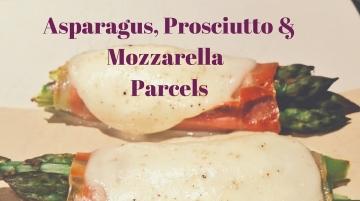 Asparagus parcels