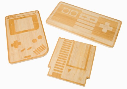 Hi Res 8-Bit Chopping Boards